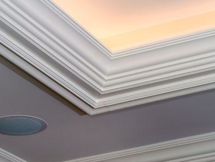 custom crown mouldings and architectural millwork