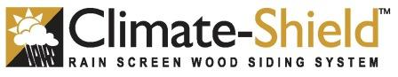Climate-Shield Rain Screen Wood Siding System