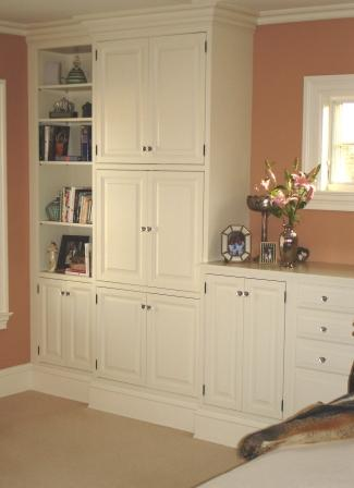 custom cabinet work and built ins