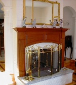 custom_made_cherry_mantel