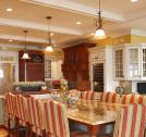 Custom kitchen island general woodcraft