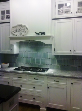 Painted kitchen cabinets with solid wood and inset cabinet doors
