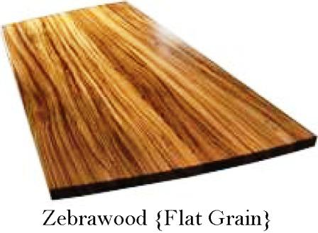 Zebrawood custom countertop
