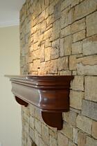 custom wood mantel general woodcraft
