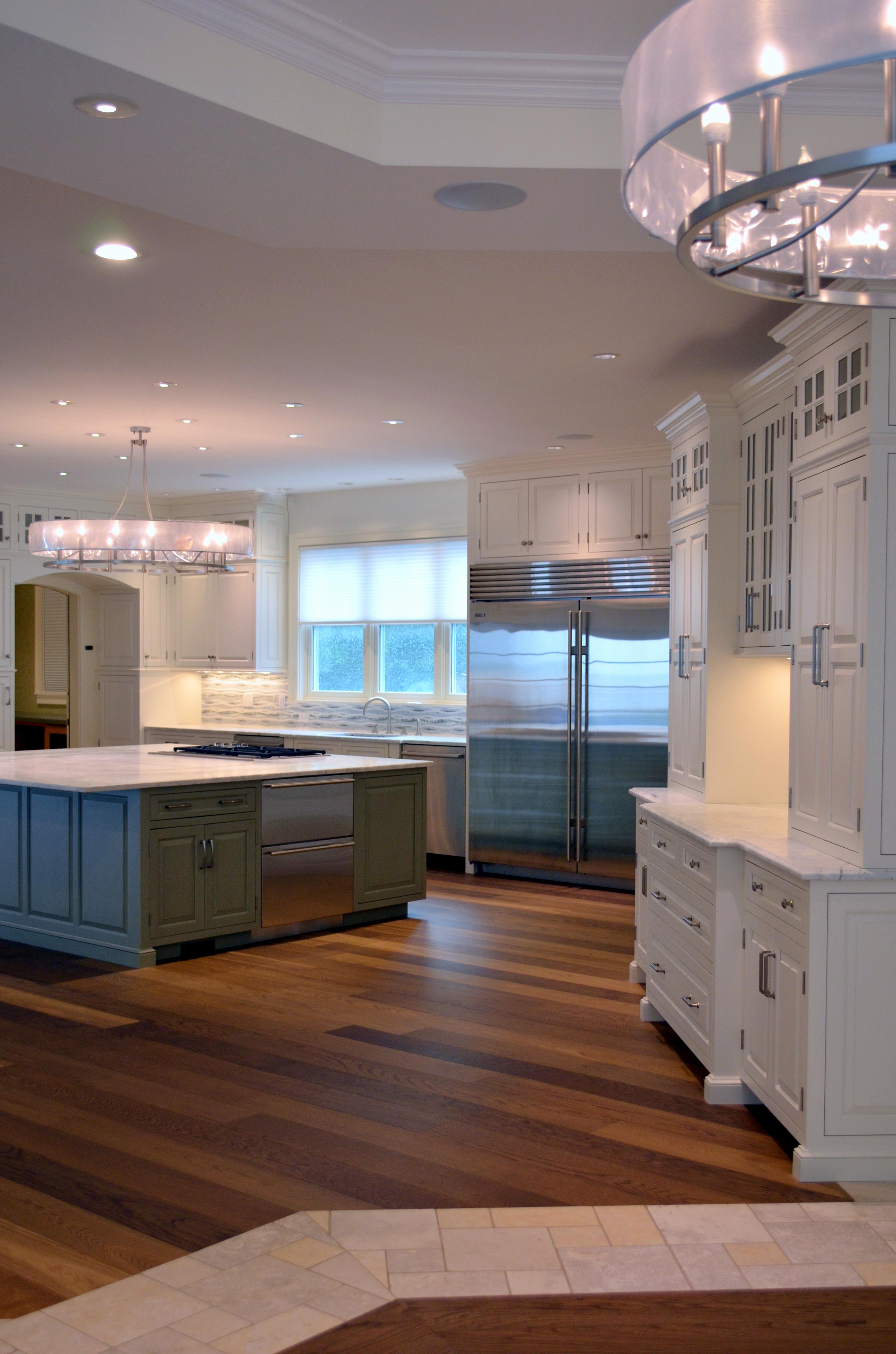 general woodcraft custom transitional kitchen