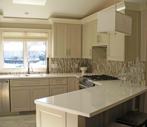 General Woodcraft Small Kitchen Design Remodel
