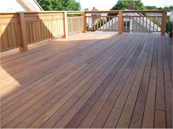 Rooftop Ipe Deck Installation 4