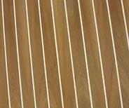 Teak and Holly plywood