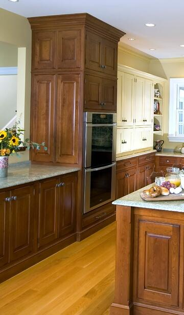 Traditional cabinetry in coastal connecticut