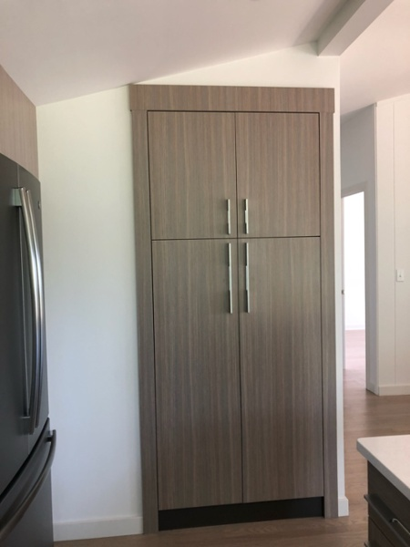 Siteline cabinetry in new custom kictchen
